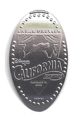 CM0009 Disney's California Adventure Sneak Preview coin