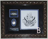 Divas Event quarter press die and art framed sets