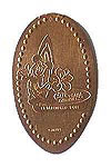 CA0031 Retired 2001 DISNEY'S CALIFORNIA ADVENTURE ESTABLISHED corrected stretched penny.