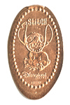 CA0037 Retired Stitch stretched penny.