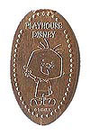 CA0045 Retired PLAYHOUSE DISNEY Stanley stretched penny.