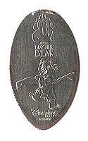 CA0048 Retired WALT DISNEY'S BROTHER BEAR stretched quarter.