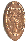 CA0051 Retired Classic Tinker Bell stretched penny.