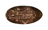 CA0205 60th Diamond Celebration pressed penny