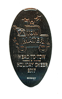 CA0245 Tow Mater HEAD TO TOW HOLIDAY CHEER 2017 pressed nickel.