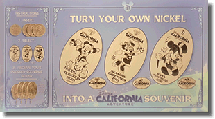 Click to open the DCA Pressed Coin Guide page for these new Seasonal pressed nickels.
