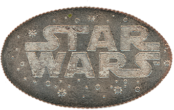 DCA Star Wars pressed quarter backstamp.