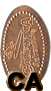 Disney California Adventure (DCA) Elongated Coin