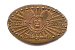 DN0008 Mickey Rays Flat Ears prototype pressed penny