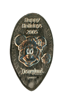 Big Nose Mickey prototype pressed nickel DN0051.