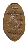 DN0068 DISNEY'S GRAND CALIFORNIAN HOTEL ® Chip and Dale Prototype Pressed Penny.