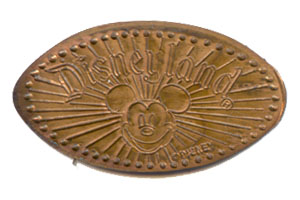 First known Disney pressed penny prototype.
