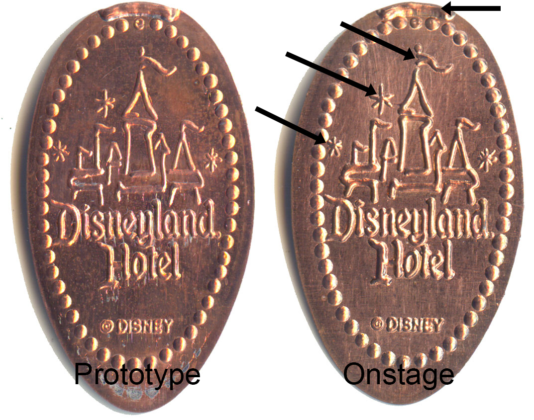 DN0029 and DR0079 Comparisons, Disneyland Pressed Pennies