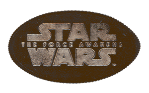 Star Wars Pressed Coins