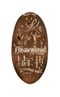 DR0159 60th Opening Day Tinker Bell & Dumbo pressed penny