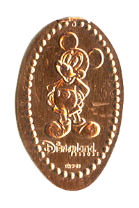 Mickey Mouse Squashed Penny
