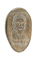 DS0011 RETIRED GEORGE MEYER early low height etched coin grip