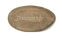 Zoom in on these Disneyland elongated coins and pressed pennies with a click.