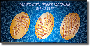 Hong Kong Disneyland Magical Pressed Coins for Iron Man HKDL1701-1703