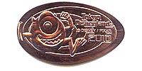 TDL1009 Tokyo Disneyland Park 2010 Mike Pressed Penny or Medal.