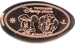 "Tokyo Disney Store ""pressed pennies"" and medals"