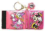 Mickey and Minnie pressed penny key chain book holder