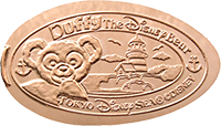 Duffy pressed penny from Japan