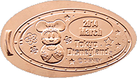 Minnie Coin of the Month  Pressed Penny