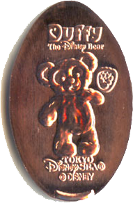Duffy The Bear Pressed Penny Collection