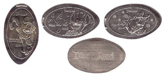 I love Disneyland elongated nickels! But, these probably will only be available for a couple of months.