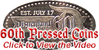 60th Anniversary pressed penny backstamp. Click to view video