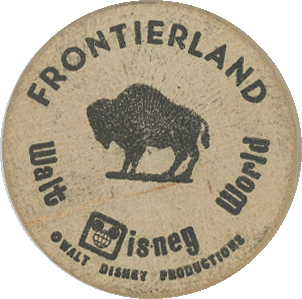 Disneyland Wooden Nickels