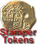 Piece of Eight Doubloon Stamper Medallion, Coin, Token