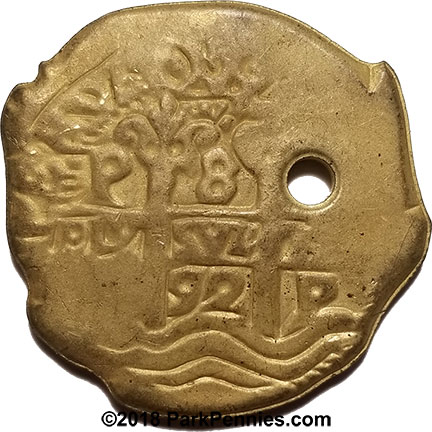Piece of Eight Pirate Stamper Doubloons