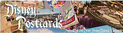 Disney Post Cards