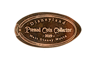 Disneyland Pressed coin Collector Walt Disney World pressed coin DW0046
