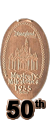 50th Magical Milestones Elongated Coin