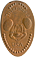 Pressed Penny from Disneyland USA