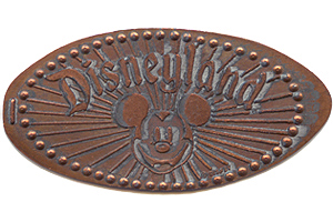 Mickey Mouse Pressed Penny DL0001